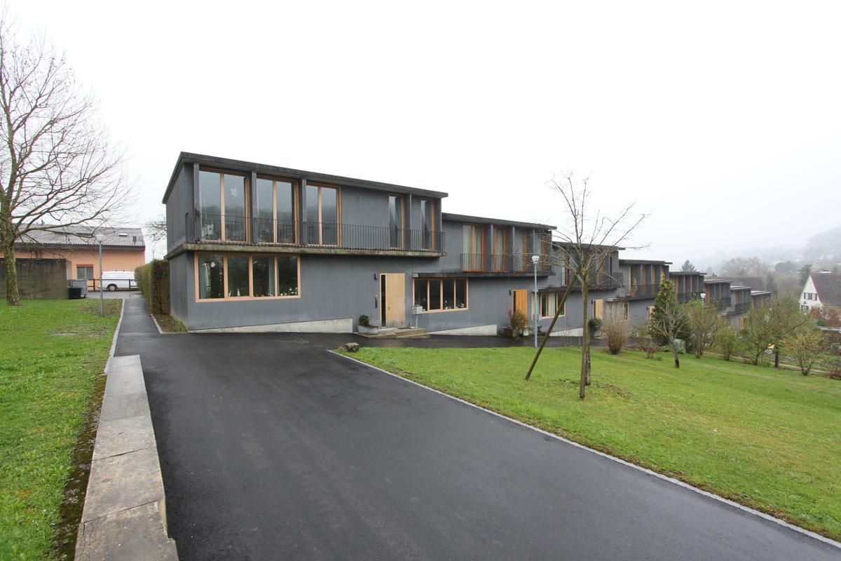Spittelhof housing biel benken for Housing construction companies